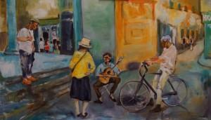 Konferenz der Straßenmusiker in Florenz