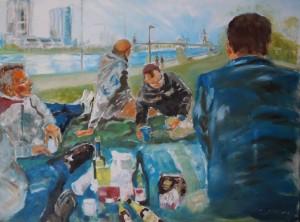 Picknick am Main