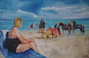 Djerba Strandszene