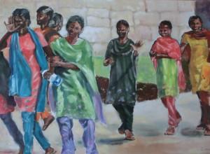 Tanz_indische Folkloregruppe